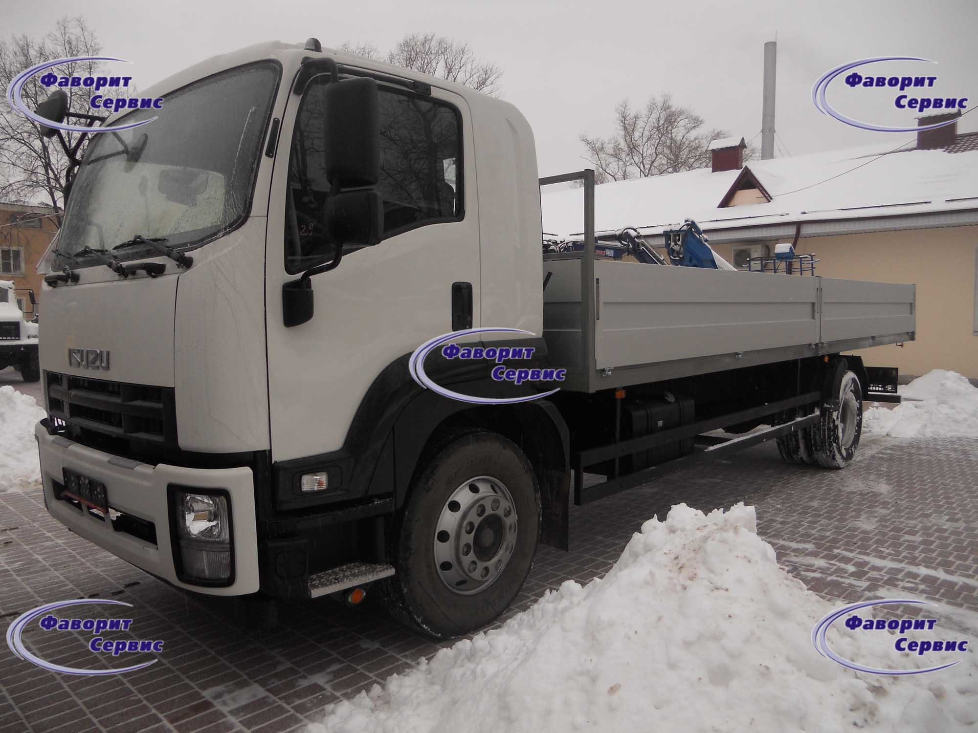Бортовой ISUZU FVR34 FORWARD_18.0 | Фаворит Сервис